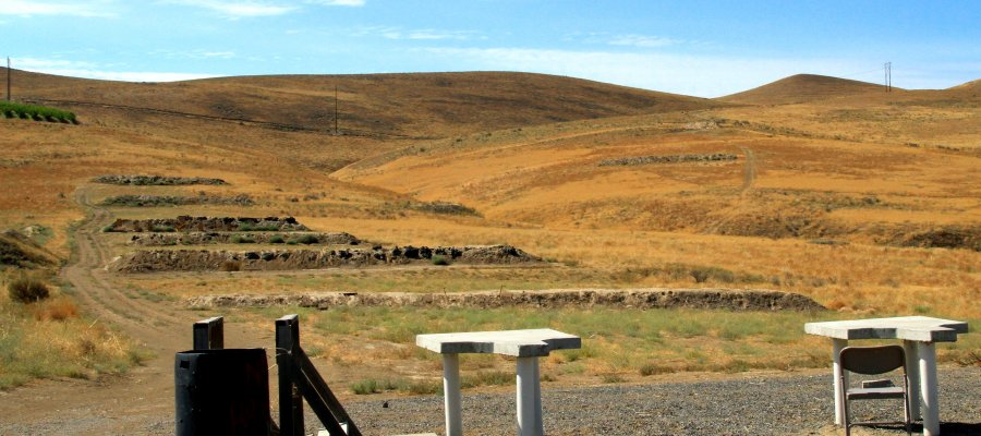 Shooting park near Yakima, Washington